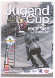 Page 1 Page 2 46° JUGEND.CUP MADESIMO 15 APRILE 2011 ...