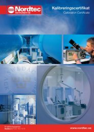 PDF-broschyr med priser - Nordtec Instrument AB