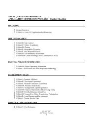 Exhibit Checklist - Department of Housing and Community ...