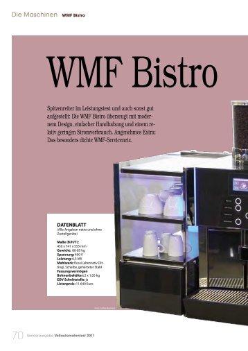 Die Maschinen WMF Bistro