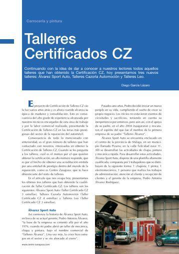 Talleres Certificados CZ - Centro Zaragoza