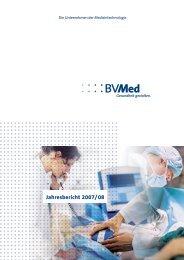 Jahresbericht 2007/08 - BVMed