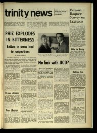 PHIZ EXPLODES IN BITTERNESS No link with UCD? - Trinity News ...