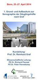 Programm - Klinik für Orthopädie und Unfallchirurgie der Uniklinik ...