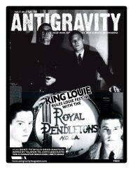 February 2008 (PDF) - Antigravity Magazine