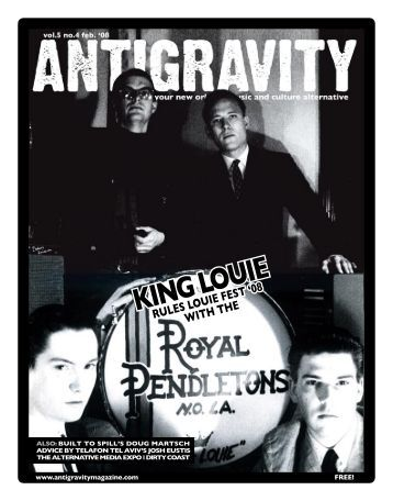 February 2008 (PDF) - Antigravity Magazine