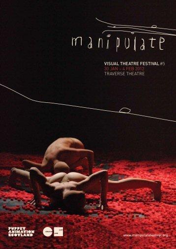 manipulate festival brochure