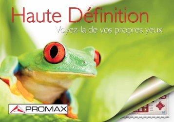 brochure du TV Explorer HD ATSC - Ottawa Ku Satellites