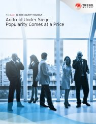3Q 2012 Security Roundup: Android Under Siege ... - Trend Micro