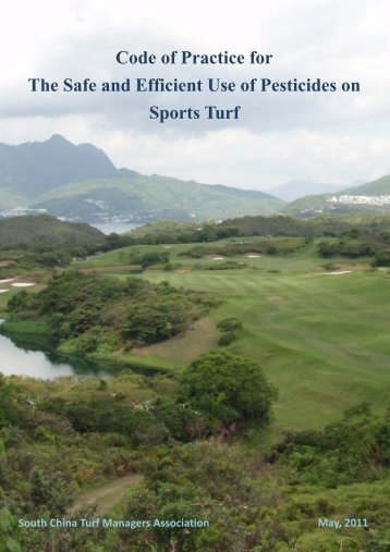 Code of Practice for The Safe and Efficient Use of Pesticides on ...