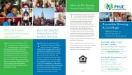 download our workshop brochure here. - Fair Housing Justice Center