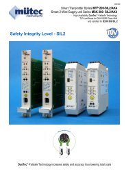 Safety Integrity Level - SIL2