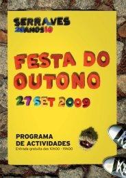 PROGRAMA DE ACTIVIDADES - Fundação de Serralves
