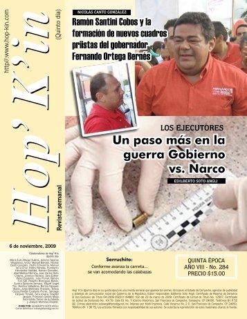 Un paso más en la guerra Gobierno vs. Narco