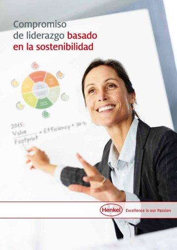 Compromiso de liderazgo basado en la sostenibilidad - Henkel