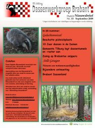 Nieuwsbrief 15 - september 2009 - Stichting ...