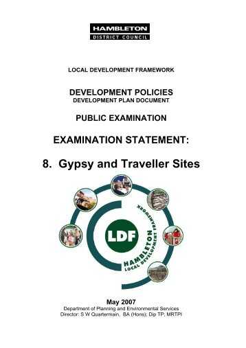 8. Gypsy and Traveller Sites May 2007 - Hambleton District Council