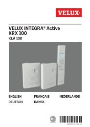 VELUX INTEGRA® Active KRX 100