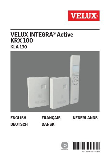 VELUX INTEGRA® Active KRX 100