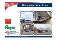 Prezentace nové metropolitní sítě - Praha.eu