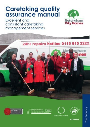 Caretaking quality assurance manual - Nottingham City Homes