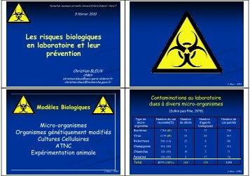ATNC - BFA - Unité de Biologie Fonctionnelle et Adaptative ...
