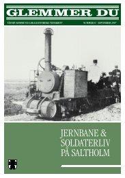 Jernbane & soldaterliv på saltholm - taarnbybib.net