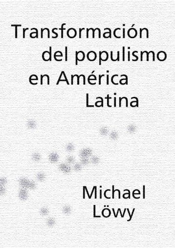 Transformación del populismo en America Latina