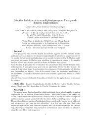 Modèles linéaires mixtes multiphasiques pour lGanalyse de ...