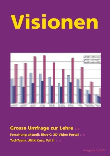 Grosse Umfrage zur Lehre - Vis - ETH Zürich