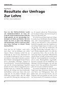 Grosse Umfrage zur Lehre - Vis - ETH Zürich - Seite 6