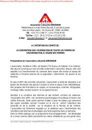 Association Culturelle AMUSNAW Médiathèque rue des frères ...