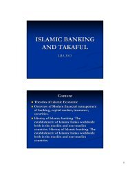 ISLAMIC BANKING AND TAKAFUL