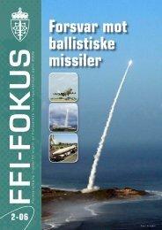 Nr. 2: Forsvar mot ballistiske missiler - Forsvarets forskningsinstitutt