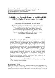 Reliability and Energy Efficiency in Multi-hop IEEE 802.15.4/ZigBee ...