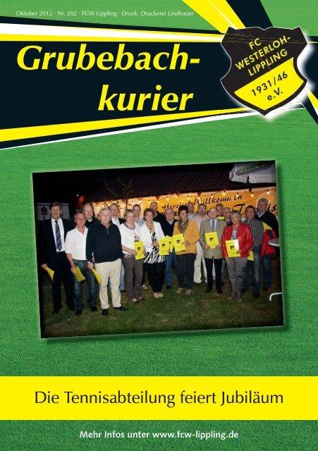Grubebach- kurier - FC Westerloh-Lippling