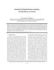 Randomized Multipath Routing Algorithms For Data ... - IRNet Explore