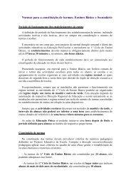 Normas para a constituição de turmas: Ensinos Básico e ... - Fenprof
