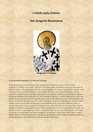I PADRI della CHIESA: San Gregorio Nazanzieno