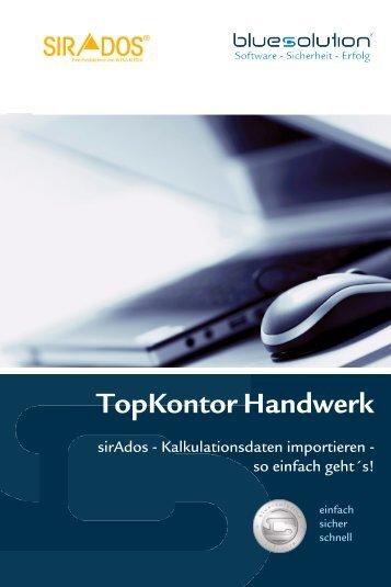 Einspielanleitung - blue:solution software GmbH