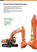HYDRAULIC EXCAVATOR - Hitachi Construction Machinery - Page 2