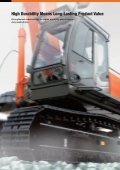 HYDRAULIC EXCAVATOR - Hitachi Construction Machinery - Page 4