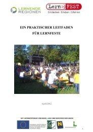 Leitfaden (Vollversion - LEADER Region Weinviertel-Manhartsberg
