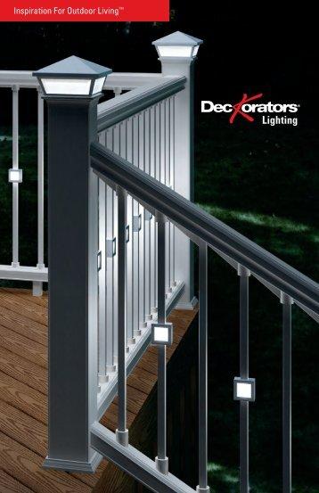 Deckorators Low Voltage Lighting Brochure and Installation Tips