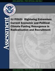 Rightwing Extremism - Federation of American Scientists