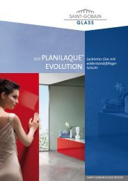 SGG PLANILAQUE® EVOLUTION - glassolutions