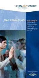 Energiesparglas +Lärmschutz +Sonnenschutz +Sicherheit + ...