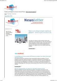 19/03/2013 Newsletter N°21 - Bruitparif