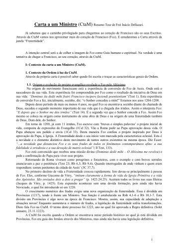 Carta ao Ministro - estef