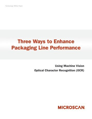 Three Ways to Enhance Packaging Line ... - Automation.com